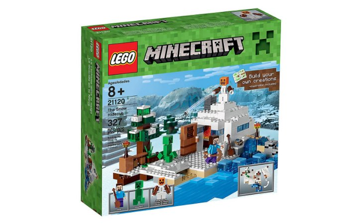 LEGO MINECRAFT - THE SNOW HIDEOUT - 21120