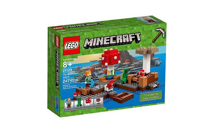 LEGO MINECRAFT - THE MUSHROOM ISLAND - 21129