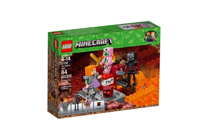 LEGO MINECRAFT - THE NETHER FIGHT - 21139