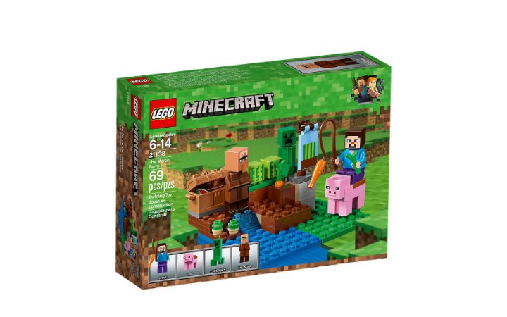 LEGO MINECRAFT - THE MELON FARM - 21138