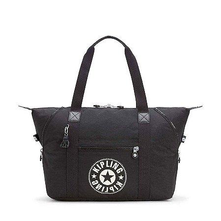 0294e9f53 Bolsa de Mão Art M Preto - Lively Black - Kipling - www.bazarnippon ...