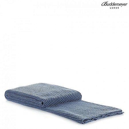 Manta de Tricot Buddemeyer Luxus Azul estonado Delano