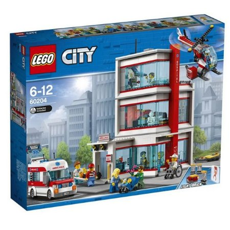 LEGO City - Hospital da Cidade - Original Lego