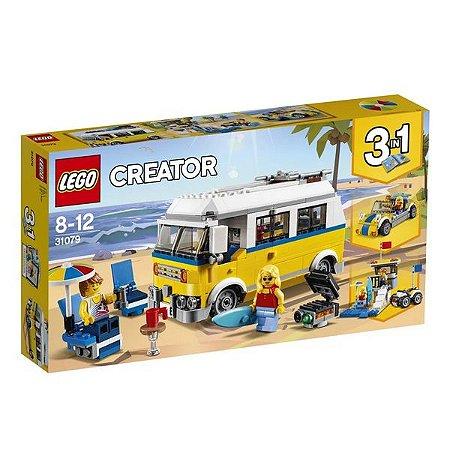 LEGO Creator - Modelo 3 em 1: Férias de Verão - Original Lego