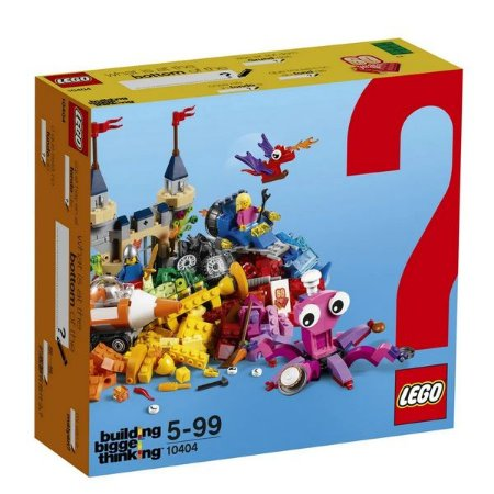 LEGO Building Bigger Thinking - Fundo do Oceano - Original Lego