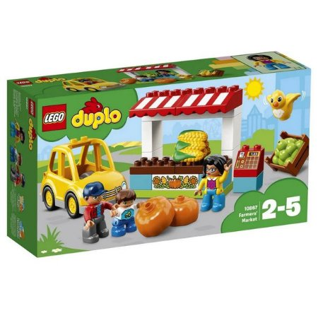 LEGO DUPLO - Mercado de Fazendeiros - Original Lego
