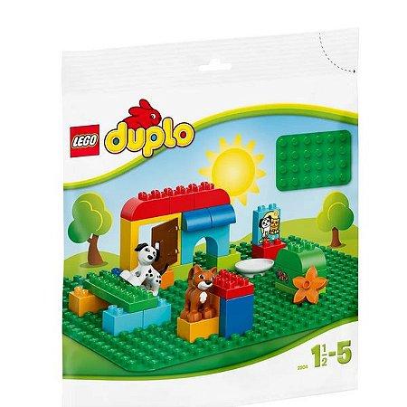 LEGO DUPLO - Base de Construção Verde Grande - Original Lego