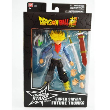 Figura de Animação - Dragon Ball Super - Dragon Stars - Super Saiyan Future Trunks