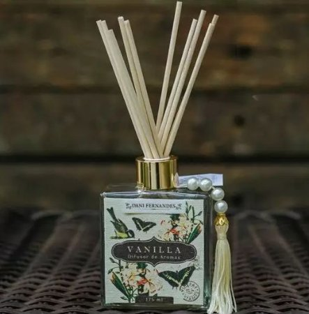 Difusor de Aromas - 175ml - Secret Garden Vanilla - Dani Fernandes