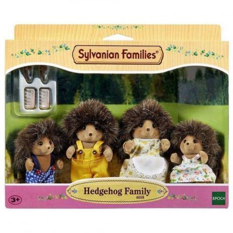 Sylvanian Families - Família dos Porcos Espinhos