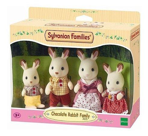 Sylvanian Families - Família dos Coelhos Chocolate