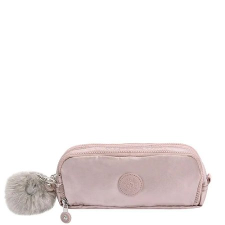 Estojo Kipling Gitroy Metallic Rose