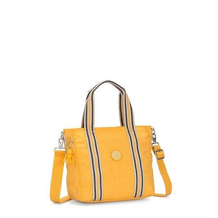 Bolsa de Mão Asseni Mini - Vivid Yellow - Kipling
