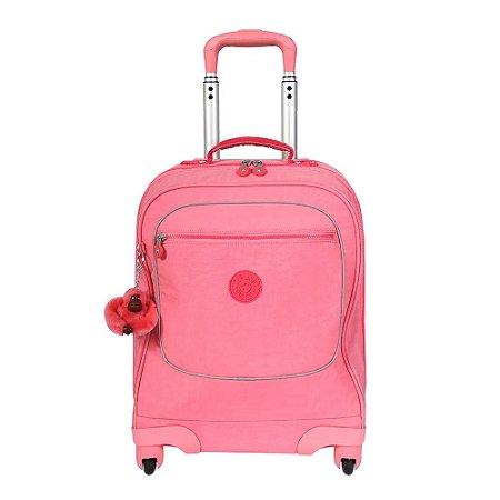 Mala de Rodinhas Licia - Fiesta Pink - Kipling