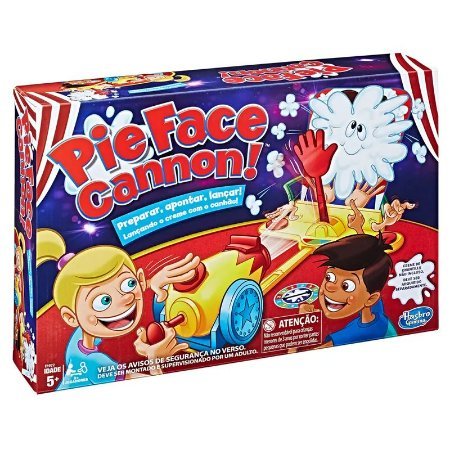 Jogo - Pie Face Canhão - Hasbro Gaming