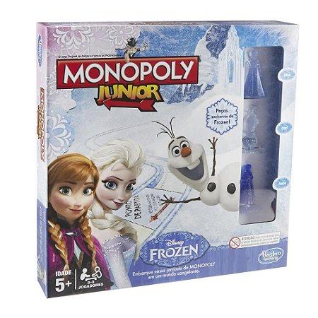 Jogo - Monopoly Junior Frozen - Hasbro Gaming