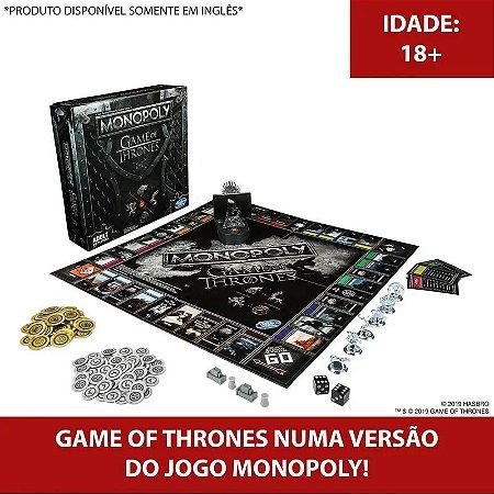 Jogo - Monopoly Game Of Thrones - Hasbro Gaming