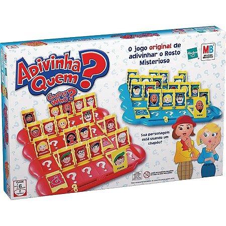 Jogo - Adivinha Quem - Hasbro