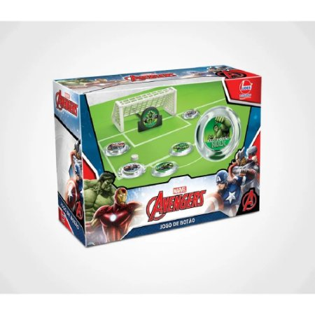 Jogo - Jogo de Botão Avengers - Lider Brinquedos