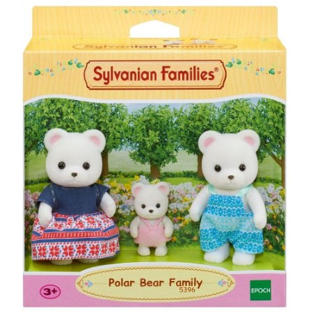 Sylvanian Families - Família dos Ursos Polares