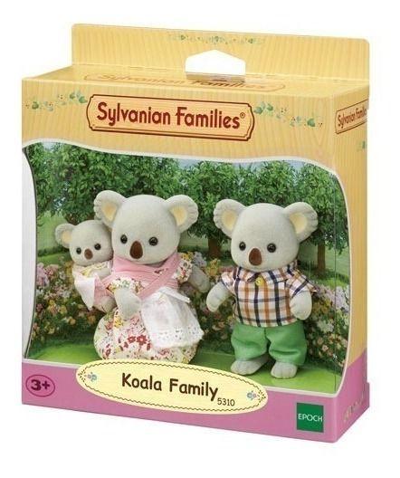 Sylvanian Families - Família dos Coalas