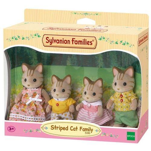Sylvanian Families - Família dos Gatos Listrados