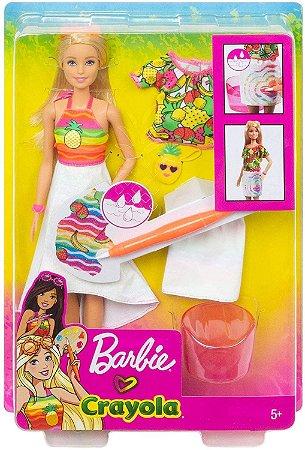 Barbie -Crayola Fruta Surpresa Cheirinho de Abacaxi