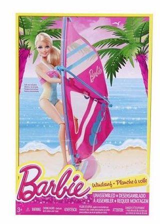 Barbie - Prancha de Surf e Acessórios