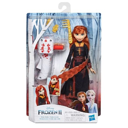 Frozen 2 - Irmãs com Estilo Tranças