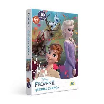 Quebra-Cabeças - Frozen 2 100pçs - Jak