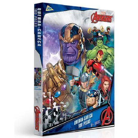 Quebra-Cabeças - Avengers 100pçs - Jak