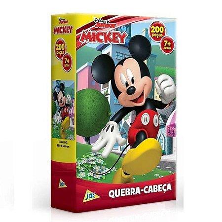 Quebra-Cabeças - Disney Junior Mickey 200pçs - Jak