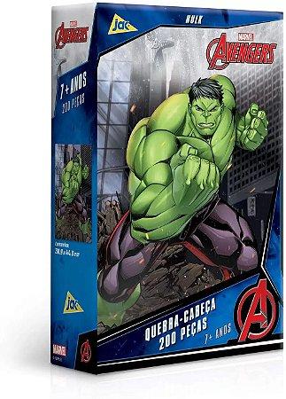 Quebra-Cabeças - Avengers Hulk 200pçs - Jak