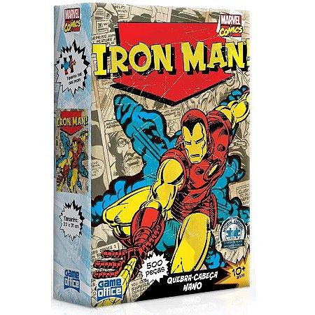 Quebra-Cabeças Nano - Iron Man 500pçs - Game Office