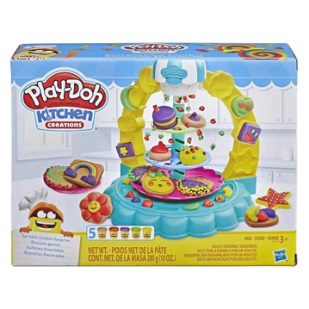 Play Doh Kitchen Creations - Biscoitos Decorados - Hasbro