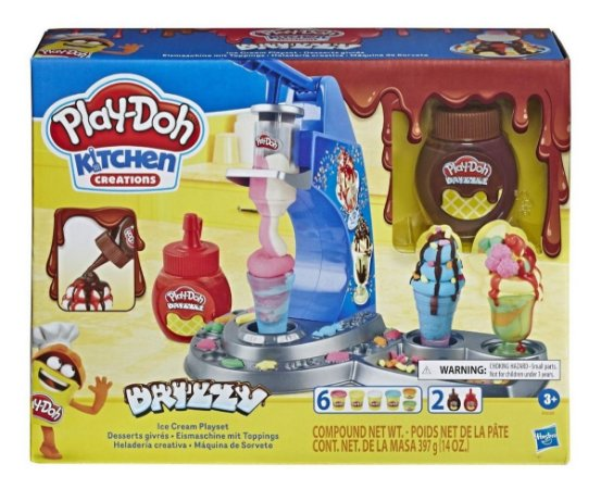 Play Doh Kitchen Creations - Maquina de Sorvete - Hasbro