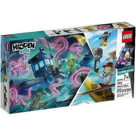 Lego Hidden Side - Wrecked Shrimp Boat - Original Lego