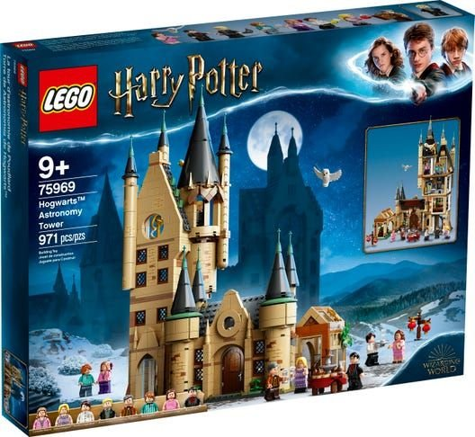Lego Harry Potter - Hogwarts Astronomy Tower - Original Lego