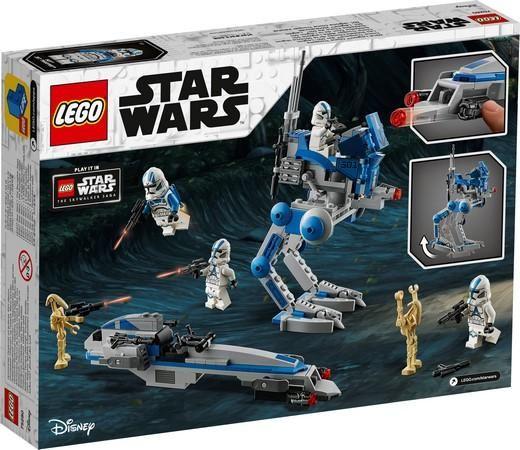Lego Star Wars - 501st Legion Clone Troopers - Original Lego