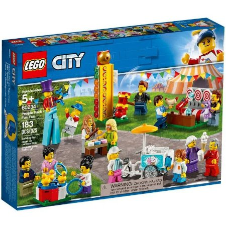 Lego City - People Pack Fun Fair - Original Lego