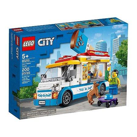 Lego City - Ice-Cream Truck - Original Lego