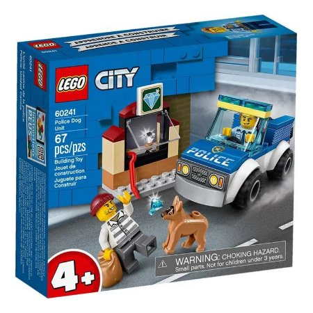Lego City - Police Dog Unit - Original Lego