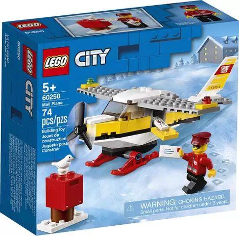 Lego City - Mail Plane - Original Lego