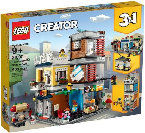 Lego Creator - Townhouse Pet Shop & Cafe - Original Lego