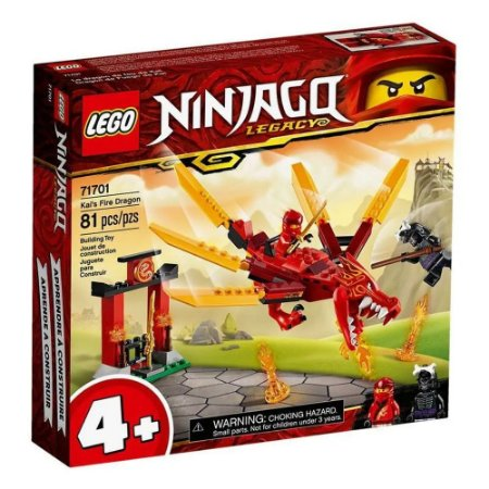 Lego Ninjago - Kai's Fire Dragon - Original Lego