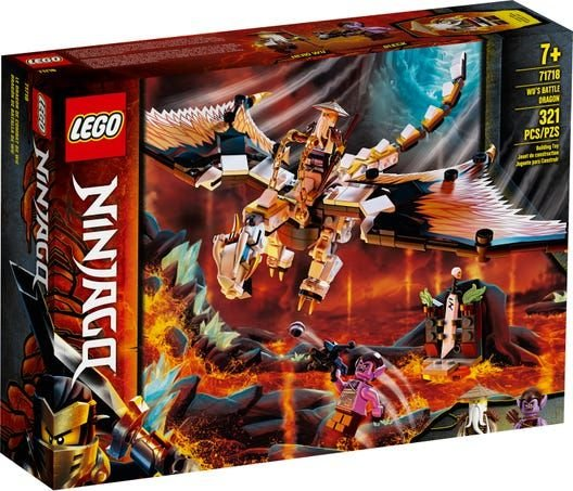 Lego Ninjago - Wu's Battle Dragon - Original Lego