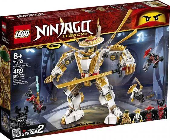 Lego Ninjago - Golden Mech - Original Lego
