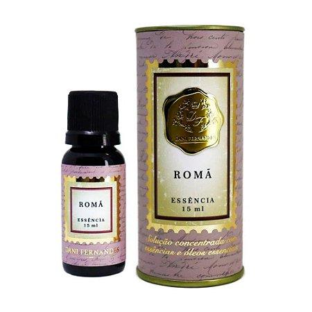 Oleo de Essencia Aromatica - 15ml - Roma - Dani Fernandes