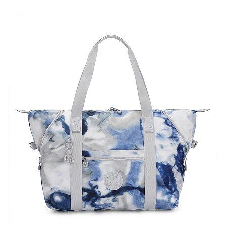 Bolsa de Ombro Art M - Tie Dye Blue - Kipling
