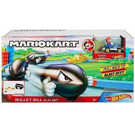 HotWheels - Mariokart Conjunto Bill Bala